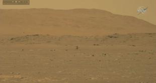 L'hélicoptère Ingenuity de la Nasa a réussi son vol sur Mars.. Vidéo
