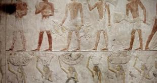 Au Louvre, la restauration de la chapelle d'Akhethétep permet d'en voir toute la splendeur.. Vidéo