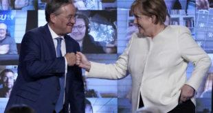 A la veille de législatives indécises, Angela Merkel s'engage pour la CDU.. Vidéos
