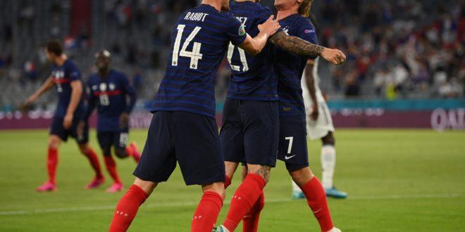 UEFA Euro 2020: la France remporte le choc face à l'Allemagne