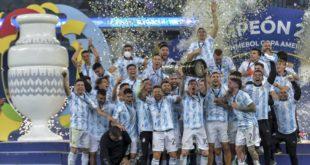 Copa America: Lionel Messi dédie la victoire de l'Argentine à sa famille, aux Argentins et à Diego Maradona