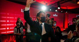 Réélu, Trudeau promet aux Canadiens un «avenir meilleur» après la pandémie